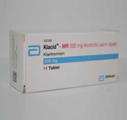 Klacid MR 500 mg